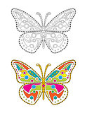 Mandala Colorful Butterfly