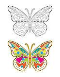 Mandala Colorful Butterfly
