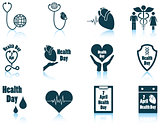 Set of Health day icons