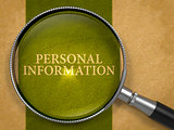 Personal Information Concept through Magnifier.