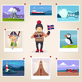 Iceland Photographer Surrounded With Photos