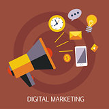 Digital Marketing Concept Art