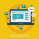 Video Marketing Concept Art