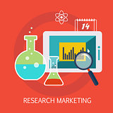 Research Marketing Concept Art