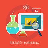 Research Marketing Concept Art