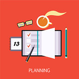 Business Planning Concept Art