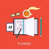 Business Planning Concept Art