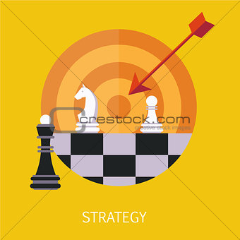 Business Strategy Concept Art