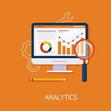 Analytics Concept Art