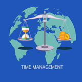 Time Management Concept Art