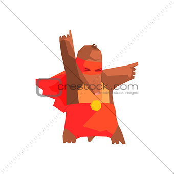 Mole Super Hero Character