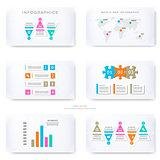 Infographic template for presentation slides