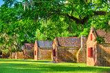 Southern Plantation Slave Quarters