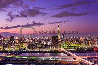 Tokyo Japan Skyline