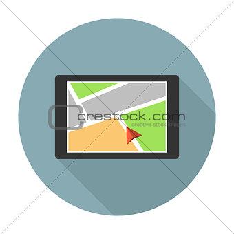 Car navigation device