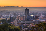 Kumamoto, Japan Skyline.