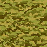 Seamless vector square background camouflage pattern in the green scheme