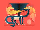 Dragon flat concept