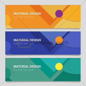 Abstract vector material design background