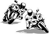 Motorcycle Biker Set