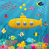 Submarine Background
