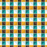 Vector geometric endless pattern.
