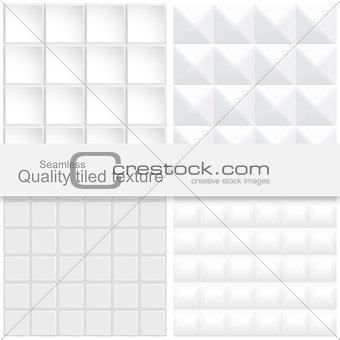 Tile textures - 3d seamless backgrounds.