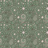 Seamless Paisley pattern, boho