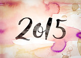 2015 Concept Watercolor Theme