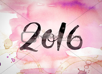 2016 Concept Watercolor Theme