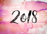 2018 Concept Watercolor Theme