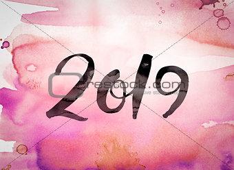 2019 Concept Watercolor Theme