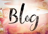 Blog Concept Watercolor Theme