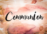 Communion Concept Watercolor Theme