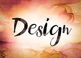 Design Concept Watercolor Theme