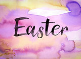 Easter Concept Watercolor Theme