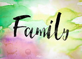 Family Concept Watercolor Theme
