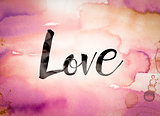 Love Concept Watercolor Theme