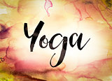 Yoga Concept Watercolor Theme