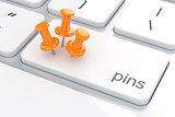 Pin concept