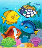 Coral reef fish theme image 4