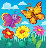 Happy butterflies theme image 7