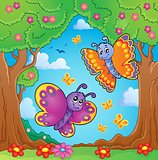 Happy butterflies theme image 8