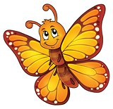 Happy butterfly topic image 1
