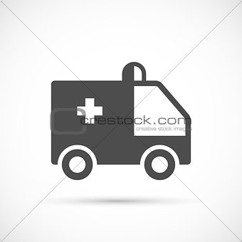 Ambulance simple icon