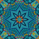 Abstract festive vector ethnic tribal pattern