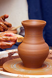 Create a clay pot