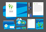 corporate identity to your business in the material design people logo