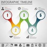 Infographic design template and marketing icon.