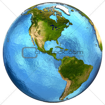 American continents on Earth
